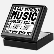 Risk It Music Keepsake Box