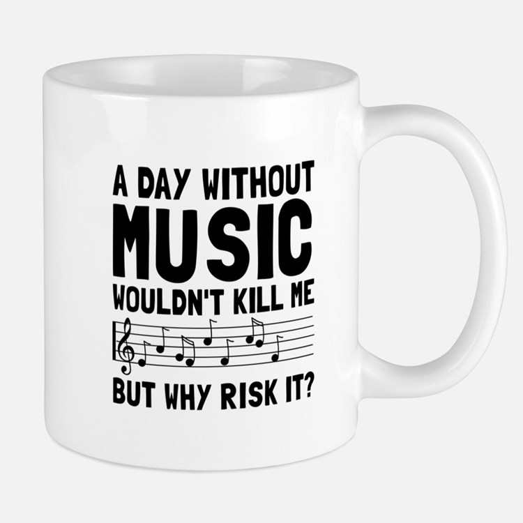 Risk It Music Mugs