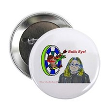 Bad Boss Bull's Eye Button