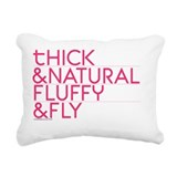 Natural hair Rectangle Canvas Pillows