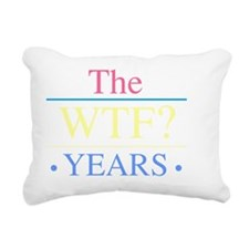 WTF Women Rectangular Canvas Pillow