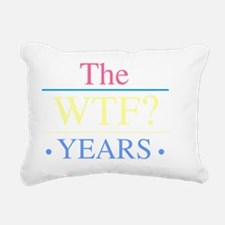 WTF Women Rectangular Canvas Pillow