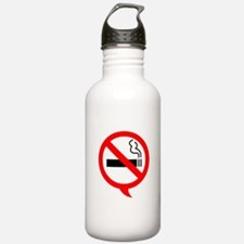 Say no to cigarettes Sports Water Bottle