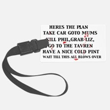 the plan Luggage Tag