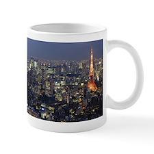 City Skyline, Tokyo, Japan Mug