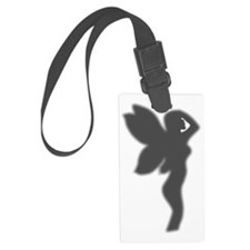 Shower Fairy Silhouette Luggage Tag