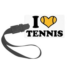 i_love_tennis_2c Luggage Tag
