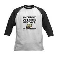 Risk It Reading Baseball Jersey