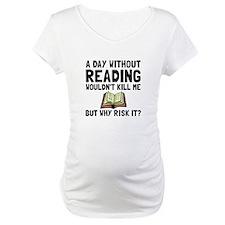Risk It Reading Shirt