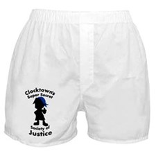 Clocktown Bombers Blue Boxer Shorts