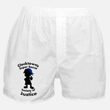 Clocktown Bombers Blue Boxer Shorts