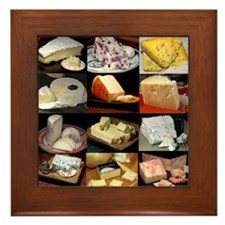 cheese gifts s Framed Tile