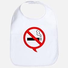 Say no to cigarettes Bib