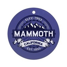 Mammoth Midnight Ornament (Round)