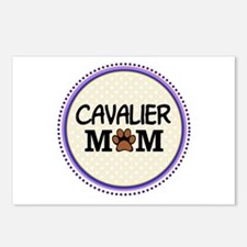 Cavalier Dog Mom Postcards (Package of 8)