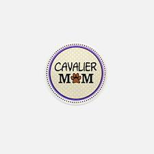 Cavalier Dog Mom Mini Button