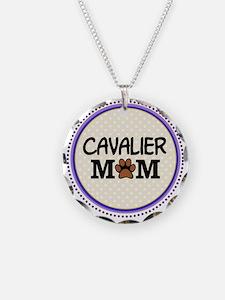 Cavalier Dog Mom Necklace