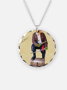 Brave Bully Black Beak Poste Necklace