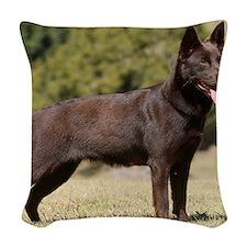 Australian Kelpie 9Y641D-151 Woven Throw Pillow
