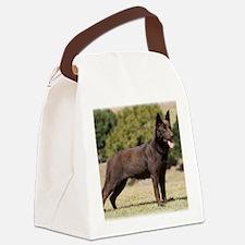 Australian Kelpie 9Y641D-151 Canvas Lunch Bag