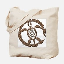 Stone Sea Turtle Tote Bag