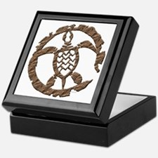 Stone Sea Turtle Keepsake Box