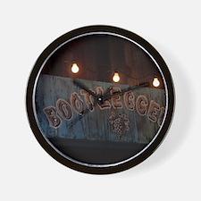 Bootleggers Wall Clock