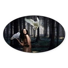 Owl Lady Decal