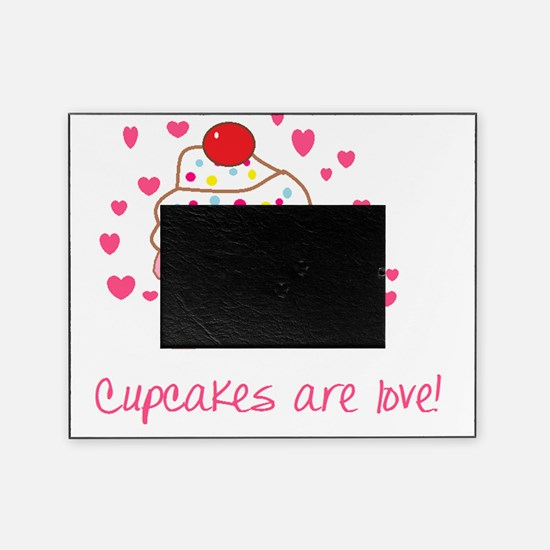 Cupcakes are love Picture Frame