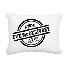 Due for Delivery Rectangular Canvas Pillow