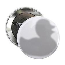"""Rubber Duck silhouette 2.25"""" Button"""