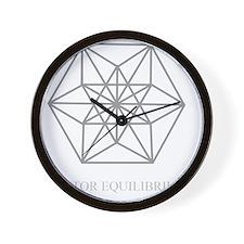 vector equilibrium Wall Clock