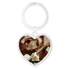 vic_sadot_911truthjusticesongs_cove Heart Keychain