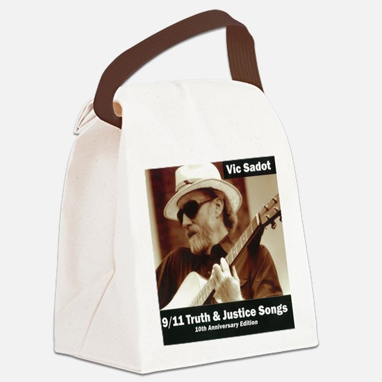 vic_sadot_911truthjusticesongs_co Canvas Lunch Bag