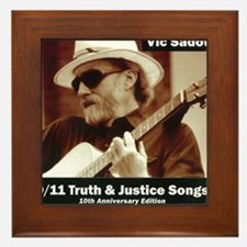 vic_sadot_911truthjusticesongs_cover60 Framed Tile