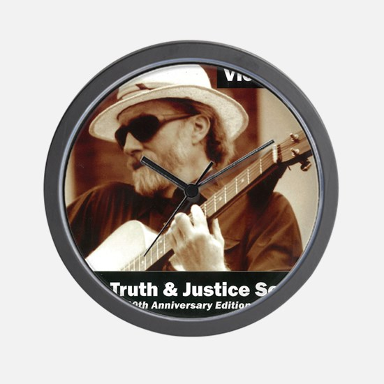 vic_sadot_911truthjusticesongs_cover600 Wall Clock