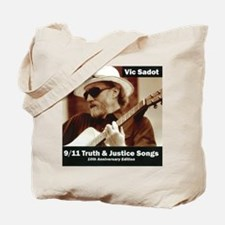 vic_sadot_911truthjusticesongs_cover600dp Tote Bag