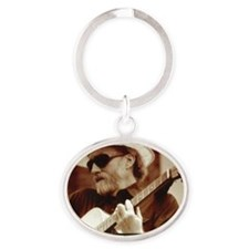 vic_sadot_911truthjusticesongs_cover Oval Keychain
