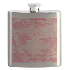 pink camo Flask