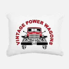 VPW II Rectangular Canvas Pillow