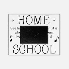 Psalm 133 Homeschool for light backg Picture Frame