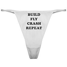 BuildFlyCrash10x10 Classic Thong