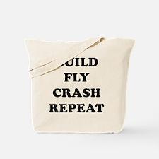 BuildFlyCrash10x10 Tote Bag