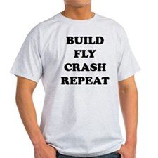 BuildFlyCrash10x10 T-Shirt