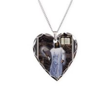 Yeshua Torah  El  Shaddai Necklace Heart Charm
