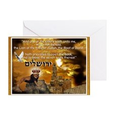 The Lion of Zion Greeting Card