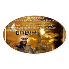 The Lion of Zion Decal