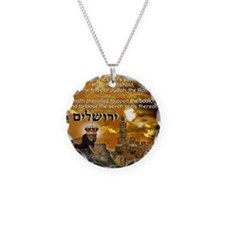 The Lion of Zion Necklace Circle Charm