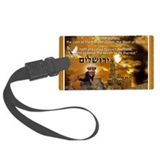 The Lion of Zion Luggage Tag