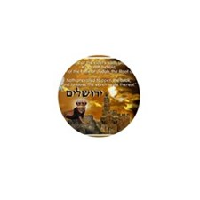 The Lion of Zion Mini Button